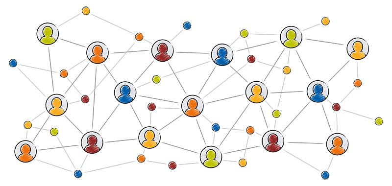 Netzwerkgrafik Ausbildung Psychodrama